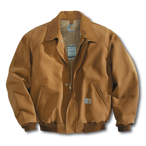 Carhartt Style #: FRJ198 Men�s Flame-Resistant All-Season Bomber Jacket FRJ198